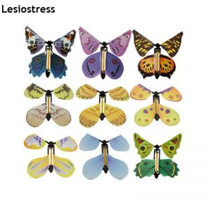 5pcs Magic Butterfly Flying Card Toy