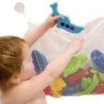 Baby Bath Toys with Storage Net