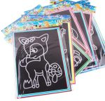 10pcs/20pcs Magic Scratch Art Doodle Pad