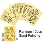 10S Sand painting