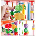 Baby Activity Play Rattle Cube