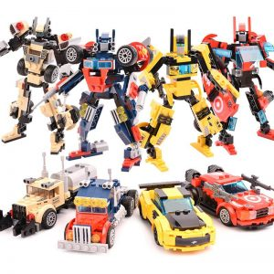 Transformers Car/Robot Building Blocks