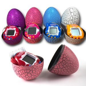 Tamagochi Tumbler LED Egg Toys  Virtual  Electronic Pet Machine Digital Electronic E-pet Retro Cyber Toy Handheld Game