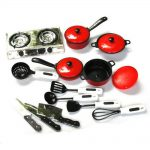 13pcs Kitchen Utensils Pretend Play Set