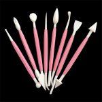 8pcs Plastic Clay/Play Dough Sculpting Tool Set