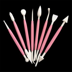 8pcs Plastic Clay/Play Dough Sculpting Tool Set