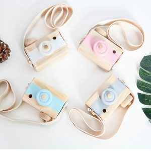 Hanging Wooden Camera Room Decor