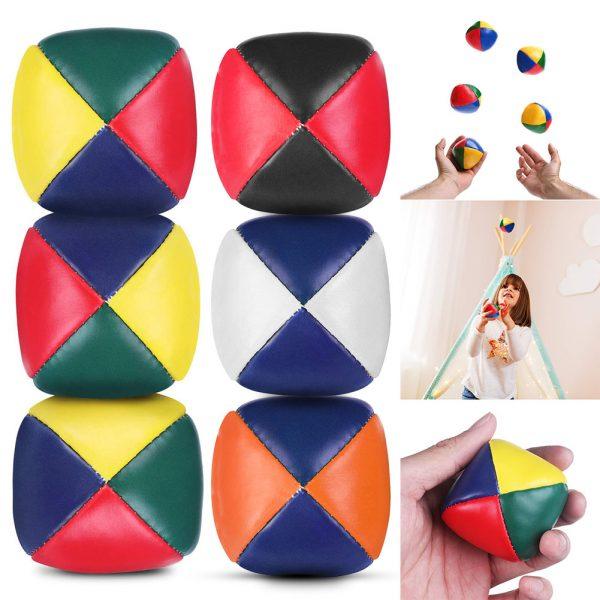 5pcs Soft Juggling Balls Set