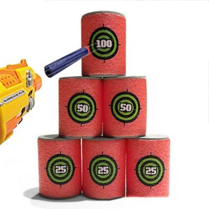 6pcs Foam Target Training Supplies