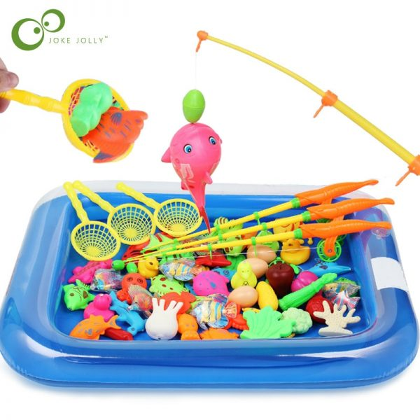 Magnetic Bath Fishing Toys