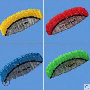 High Quality 2.5m Dual Line Parachute Kite