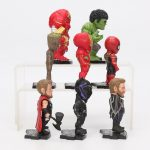 8pcs Marvel Avengers Action Figures