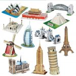 3D World Famous Buildings and Architectures