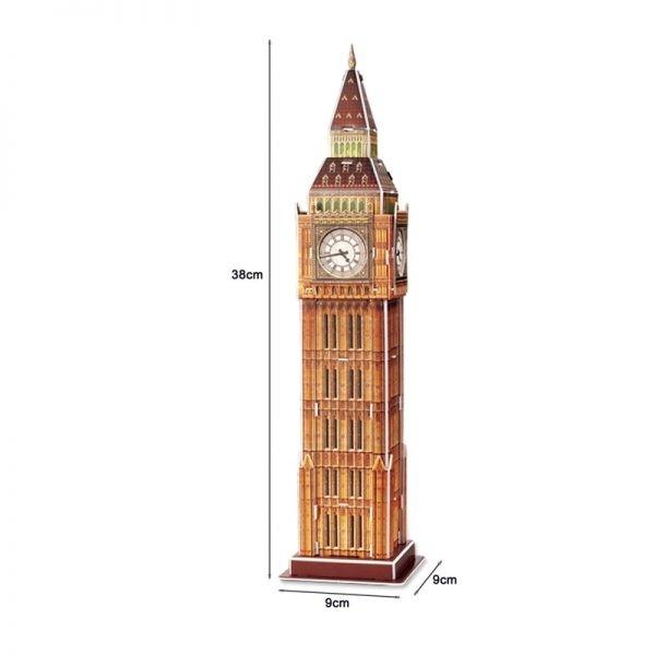 3D England World Famous Big Ben Model