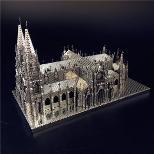 DIY 3D St. Patrick's Cathedral Model Kit