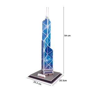 Famous Hong Kong Bank of China Tower Model