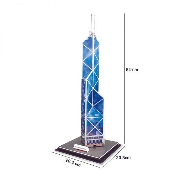 Famous Hong Kong Bank of China Tower Model