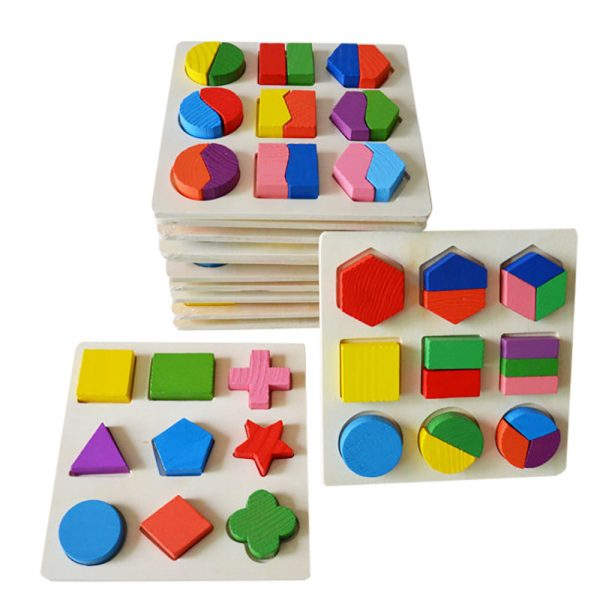 Wooden Geometry Early Learning Toy