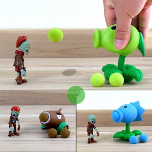 Plants vs Zombies Peashooter PVC Action Figure