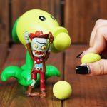 Plants vs Zombies Peashooter PVC Action Figure