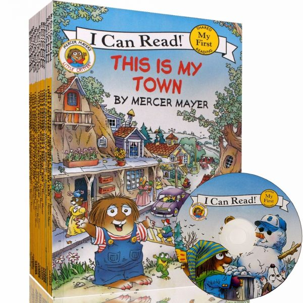 15 Books+CD I Can Read Little Critter English Story Book