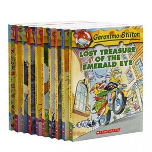 10pcs/set Geronimo Stilton Story Books