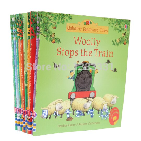 Usborne 10pcs/set Farmyard Tales