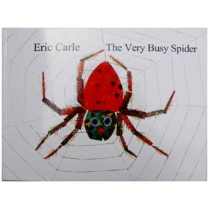 The Very Busy Spider By Eric Carle Story Book