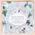 1pc 24 Pages Time Travel Coloring Book