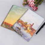 English Copybook Calligraphy Italic Handwriting