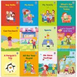 12pcs Set Early Childhood English Reading Picture Book