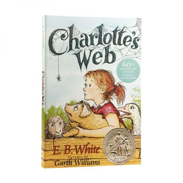 Charlotte's Web English Fiction Book