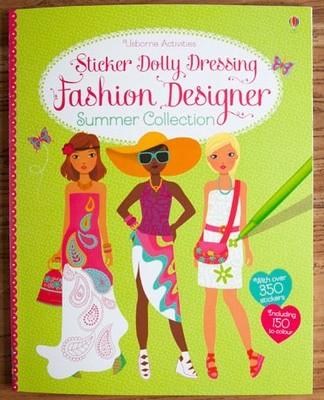 Sticker Dolly Dressing Fashion Designer