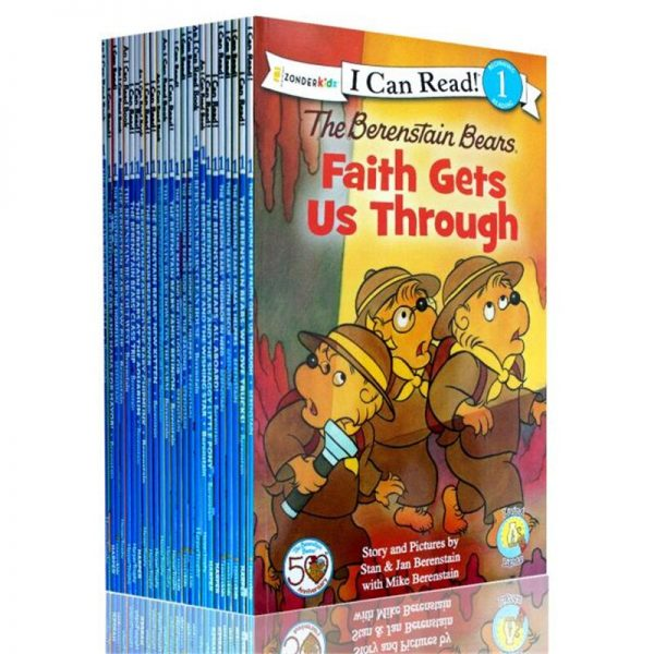 25pcs/set I Can Read The Berenstain Bears English Story Books