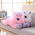 Giant 110/60cm Unicorn Soft Plush Toy