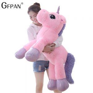 Giant 110/60cm Unicorn Soft Plush Toy