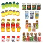Mini Simulation Kitchen Pretend Play Accessories