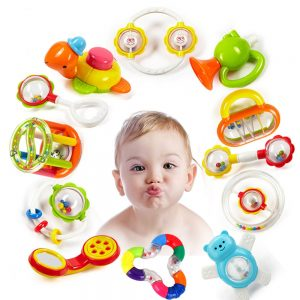 Baby Plastic Hand Hold Jingle Shaking Toys