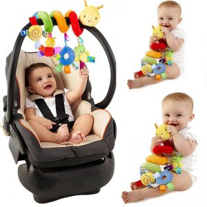 Cute Activity Spiral Colorful Crib Toy