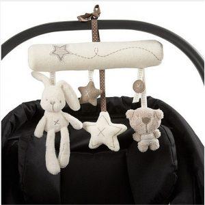 Baby Rattles Plush Stroller Toys