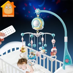 Baby Crib Rotating Mobile Musical Box