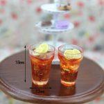 1:12 Mini Dollhouse Cups Accessories