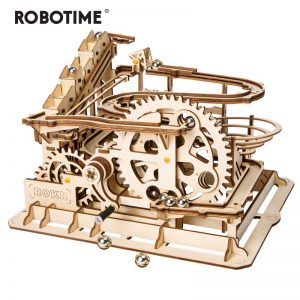 DIY Robotime Wooden Marble Run Game
