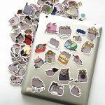 100pcs Cute Cartoon Cat Stickers