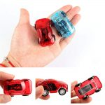 5 Pack Pull Back Plastic Car Set