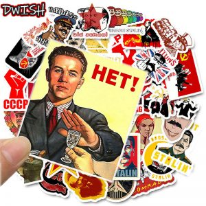 10/30/50pcs Mixed Soviet Union Stickers