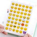 1 Sheet Face Expression Stickers