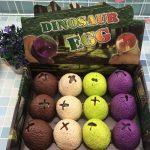 Dinosaur Pinch Egg Squeeze Ball