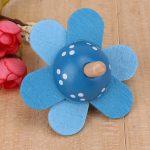 Kids Wooden Flower Spinning Top