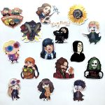 53pcs Harry Potter Hogwarts Stickers